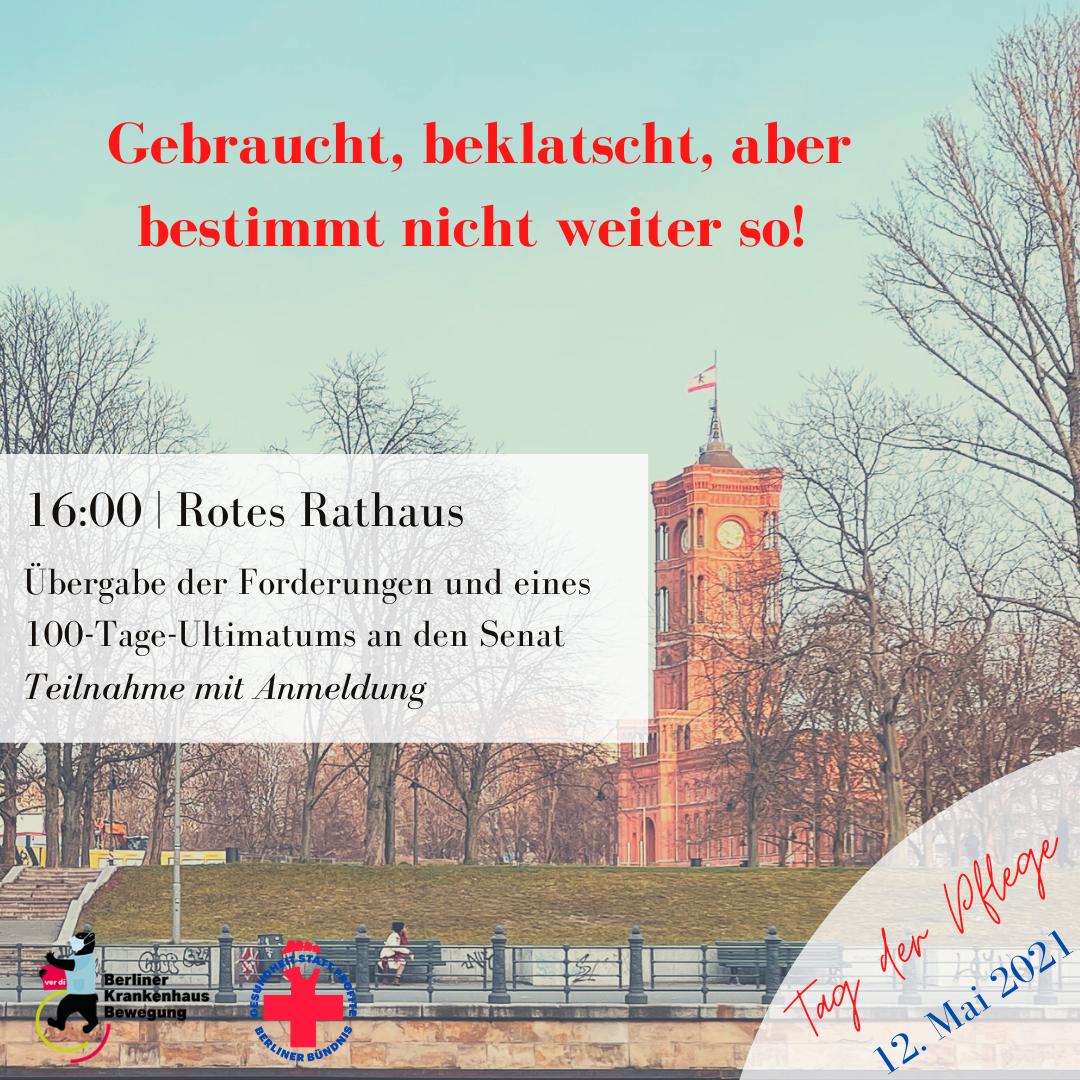 Einladung zur Kundgebung am 12. Mai vor dem Roten Rathaus